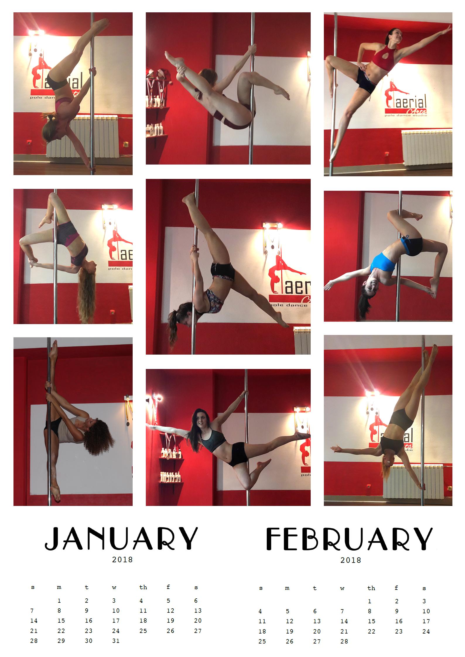 Prvi kalendar iz 2018, januar/februar :)
