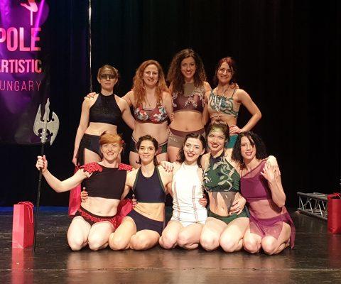 Naši takmičari se vraćaju uspešni sa Pole Artistic Hungary!